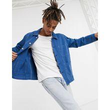 Weekday – Generic – Jacke mit Taschen in Blau