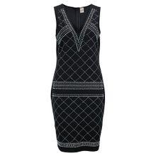 Heine Kleid schwarz / weiß