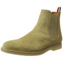 Tommy Hilfiger Herren W2285ILLIAM 2B Chelsea Boots, Beige (Cashmere), 45 EU