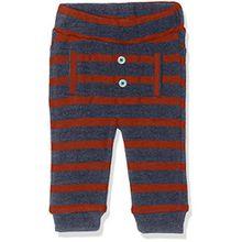 Noppies Baby-Jungen Hose B Pant Jersey Reg Hamlet, Blau (Indigo Blue Melange C141), 62
