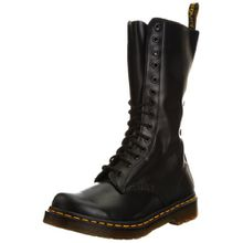 Dr. Martens 1B99 14 Eye Zip Boot 11820021 Damen Stiefel, Schwarz (Black), 36 EU