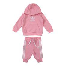 ADIDAS ORIGINALS Jogginganzug pink / weiß