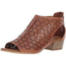 Tamaris 28140-20 Damen Elegante Sandalette aus Glattleder 'Touch-it'-Innensohle, Groesse 39, Cognac