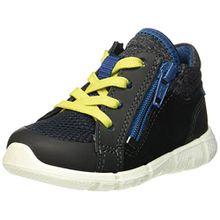 Ecco Baby Jungen Intrinsic Mini Sneaker, Schwarz (Black/Black), 22 EU