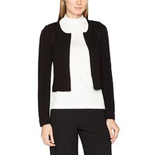 comma Damen Blazer 85899540414, Schwarz (Black 9999), 40