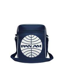 LOGOSHIRT Tasche 'Pan American World Airways' nachtblau / weiß