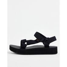 Teva - Midform Universal - Schwarze Sandalen mit dicker Profilsohle - Schwarz