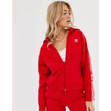 adidas Originals - Locked Up - Rote Trainingsjacke mit Logo - Rot