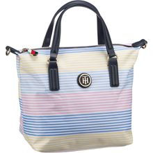 Tommy Hilfiger Handtasche Poppy Small Tote STP 6863 Multi Stripe