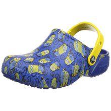 crocs Fun Lab Minions Graphic Clog Kids, Unisex - Kinder Clogs, Blau (Blue Jean), 27/28 EU