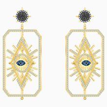 Tarot Magic Ohrringe, mehrfarbig, Vergoldet