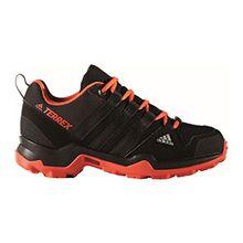 adidas Unisex-Kinder Terrex Ax2R CP K Trekking-& Wanderhalbschuhe, Schwarz (Negbas/Negbas/Energi), 35 EU