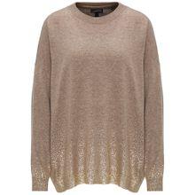 DREIMASTER Pullover hellbraun / gold