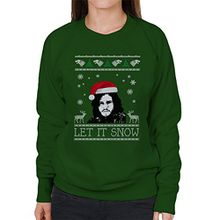 Let It Snow Jon Snow Christmas Game Of Thrones Women's Sweatshirt