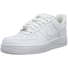 Nike Air Force 1 07, Damen Sneakers, Weiß (White/White), 40.5 EU (6.5 Damen UK)