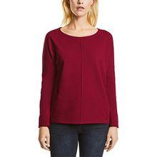 Cecil Damen Langarmshirt Valentina 311654, Rot (Cranberry Red 11088), XX-Large