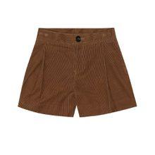 Shorts aus Cord
