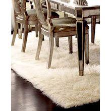 Premium Shaggy Flokati Griechische Teppiche Elfenbein Farbe, von Rugs & Stuff–2000GSM–viele verschiedenen Größen, Wolle, beige, 70 x 120cm