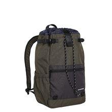 CHIEMSEE Rucksack mit gepolsterten und verstellbaren Schultergurten dunkelgrün