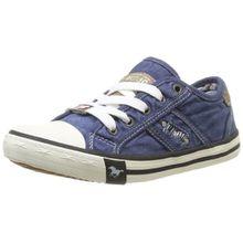 Mustang 5803-305-841, Unisex-Kinder Sneakers, Blau (841 jeansblau), 35 EU