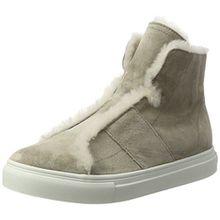 Kennel und Schmenger Damen Basket Hohe Sneaker, Grau (Elefant/Nature Sohle Weiss), 37 EU