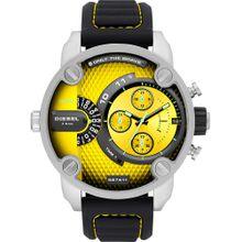 DIESEL Uhren gelb / schwarz / silber