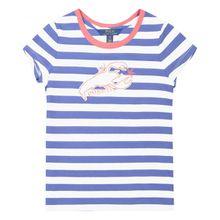 Polo Ralph Lauren Mädchen-T-Shirt - Blau (92, 98, 110, 116, 122, XL)