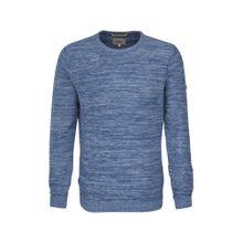 CAMEL ACTIVE Pullover blaumeliert