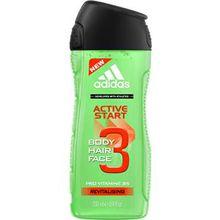 adidas Pflege Functional Male Active Start For Men Shower Gel 250 ml