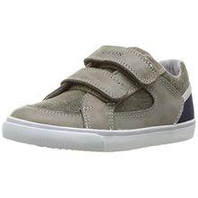 Geox Baby Jungen B Kiwi Boy G Sneaker, Grün (Olive/NAVYCD3F4), 24 EU