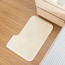 CJANY Wecker Für Schwere Schläfer Creative Rug Teppich Wecker-Teppich Teppich Wecker Nur Stopps Wenn Sie Darauf Stehen Advance Design Für Moderne Home (weiß)