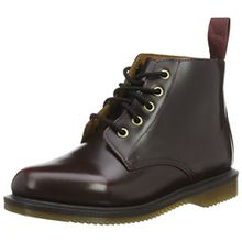 Dr. Martens Emmeline Pol. Smooth Cherry, Damen Combat Boots, Rot (Cherry Red), 43 EU (9 Damen UK)
