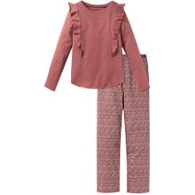 SCHIESSER Schlafanzug rosa