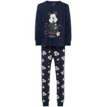 NAME IT Schlafanzug 'Mickey Mouse' dunkelblau