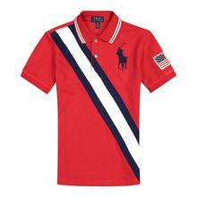 Polo Ralph Lauren Jungen-Polo-Shirt - Rot (92, 98, 104, 110, 116, 122, 128, 140, 152, 164)