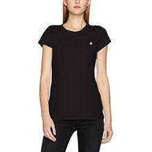 G-STAR RAW Damen T-Shirt Eyben Slim R T Wmn S/S, Schwarz (Black 990), 34 (Herstellergröße:XS)