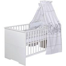 Kombi-Kinderbett Maxx White, 70 x 140 cm, weiß
