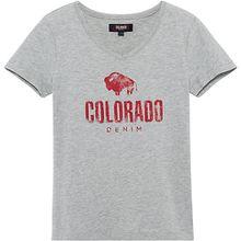 T-Shirt KIMMI , Organic Cotton grau Mädchen Kinder