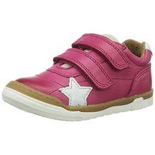 Bisgaard Unisex-Kinder Klettschuhe Low-Top, Pink (4001 Pink), 35 EU