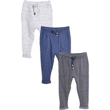 Jogginghosen 3er Pack  blau/grau Jungen Baby
