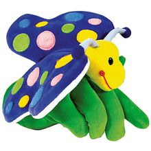 Handpuppe Schmetterling, 22 cm