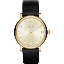 Marc Jacobs Uhr 'Baker' gold / schwarz