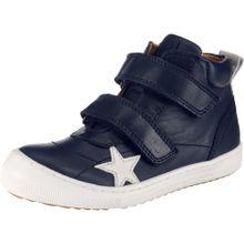 BISGAARD Sneakers High dunkelblau / weiß