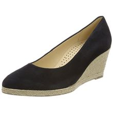 Gabor Shoes Damen Casual Pumps, Blau (Pazifik), 35 EU