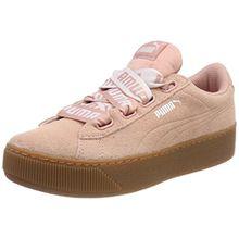 Puma Damen Vikky Platform Ribbon Bold Sneaker, Beige (Peach Beige), 38 EU