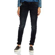 G-STAR RAW Damen Jeanshose 5620 Custom Mid Skinny Wmn, Blau (dark aged 89), 31W/32L
