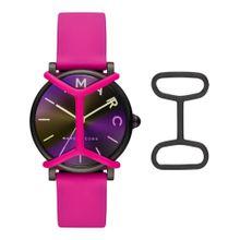 Marc Jacobs Uhr dunkellila / dunkelpink / schwarz
