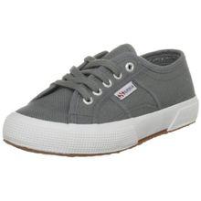 Superga 2750 JCOT Classic, Unisex-Kinder Sneaker,Grau (Gris), 30 EU