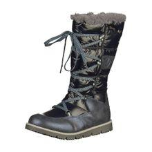 S.Oliver Junior Stiefel dunkelbeige / navy / schwarzmeliert