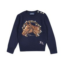 Polo Ralph Lauren Mädchen-Pullover - Blau (92, 98, 104, 110, 116)